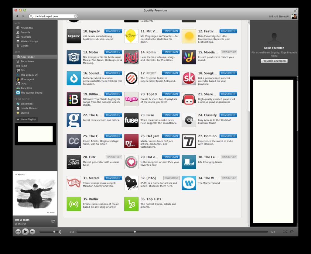 Spotify Apps Caschys Blog