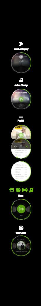 Spotify  Android Wear App on Behance httpswwwbehance