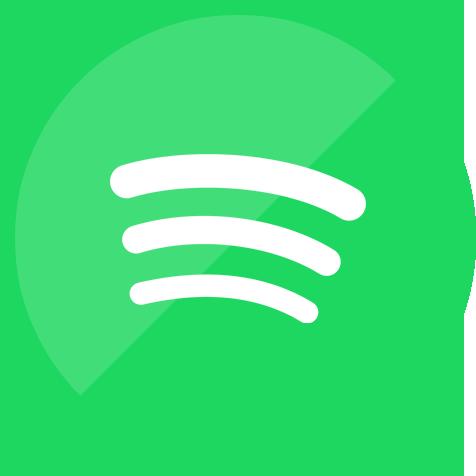 Music service social media spotify icon