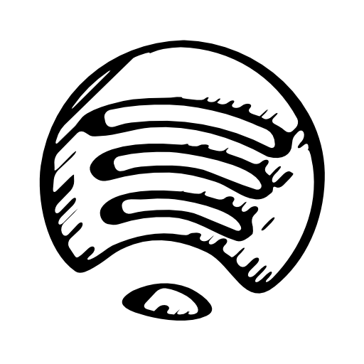 White Spotify Icon at GetDrawings.com | Free White Spotify ... - Spotify Outline