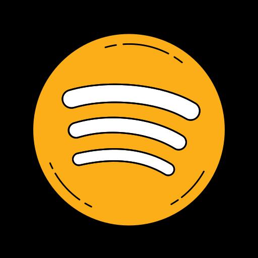 Logo orange Spotify Kostenlos Symbol von Famous logos in