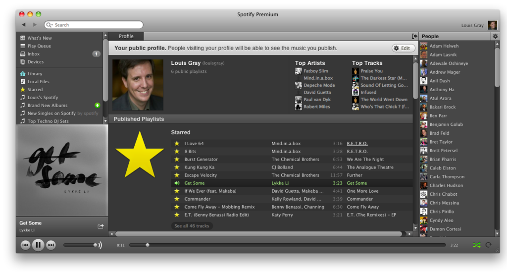 louisgraycom Spotifys US Launch Goes Well as Listeners
