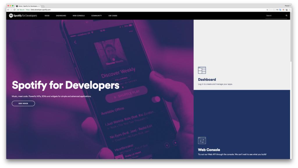 The new Spotify for Developers experience is here