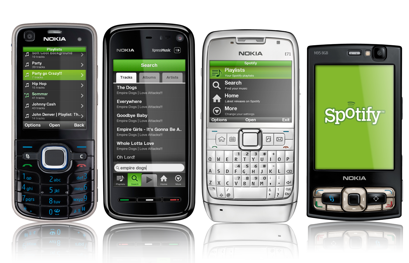 20 Free Applications For Symbian Smartphones - Spotify Phone