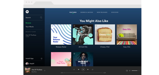 Spotify Web Player  Free download and software reviews