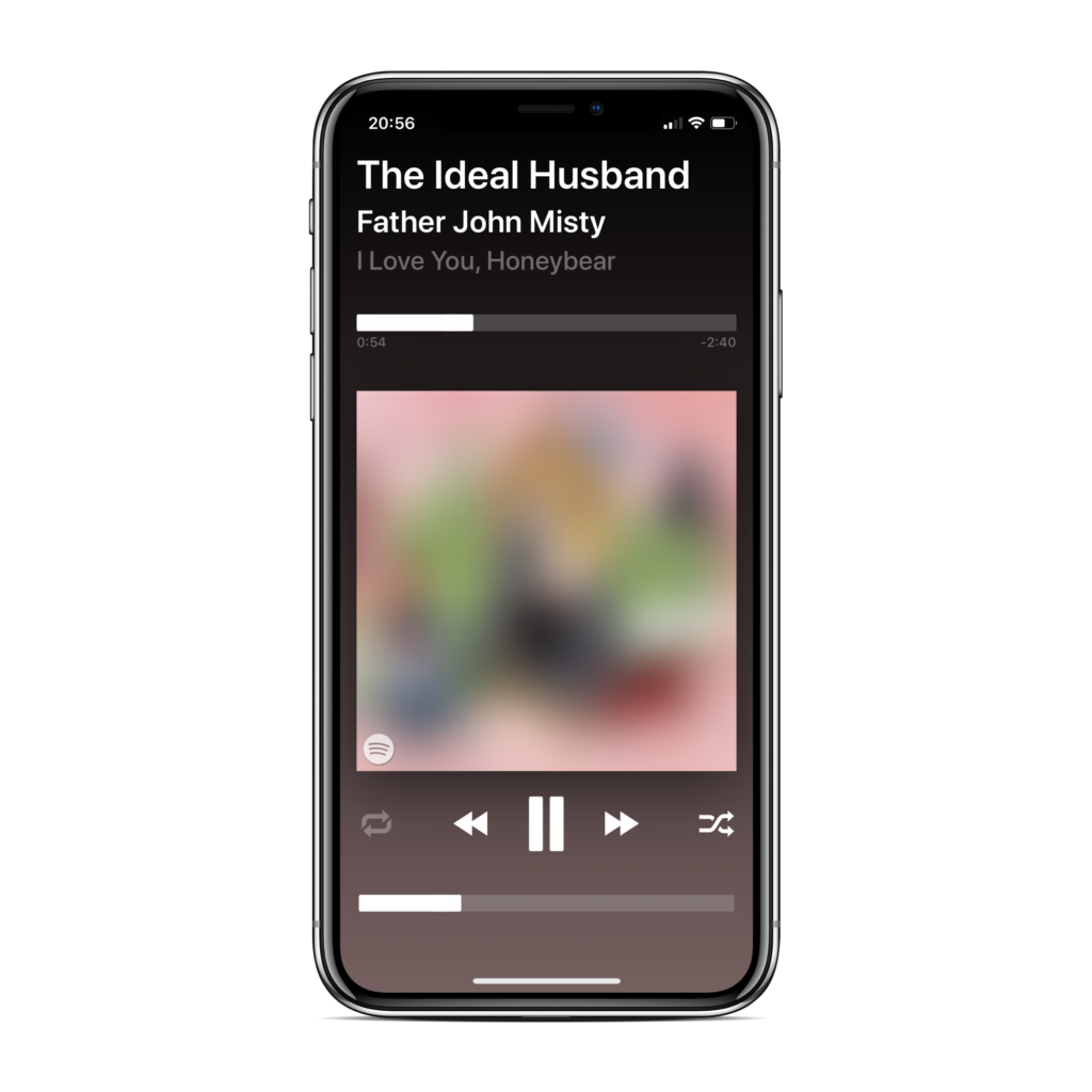I made a new music player with support for Spotify and