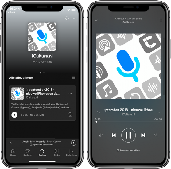 Spotify podcasts luisteren zo vind je podcasts in Spotify