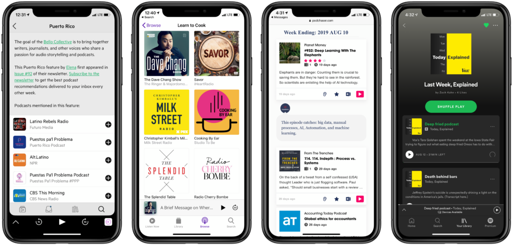The promise of podcast playlists  Pacific Content