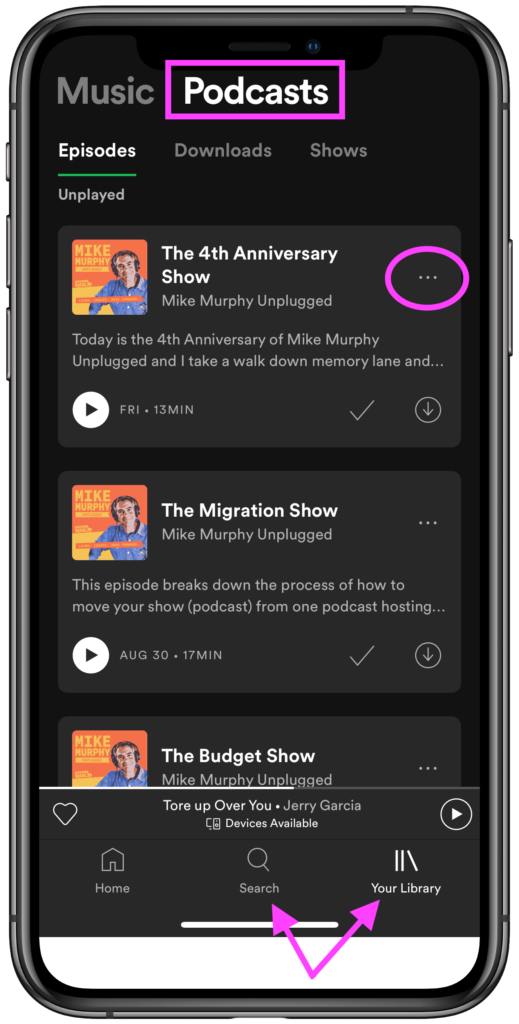 298 How To Add Podcast Episodes to Spotify Playlists  by
