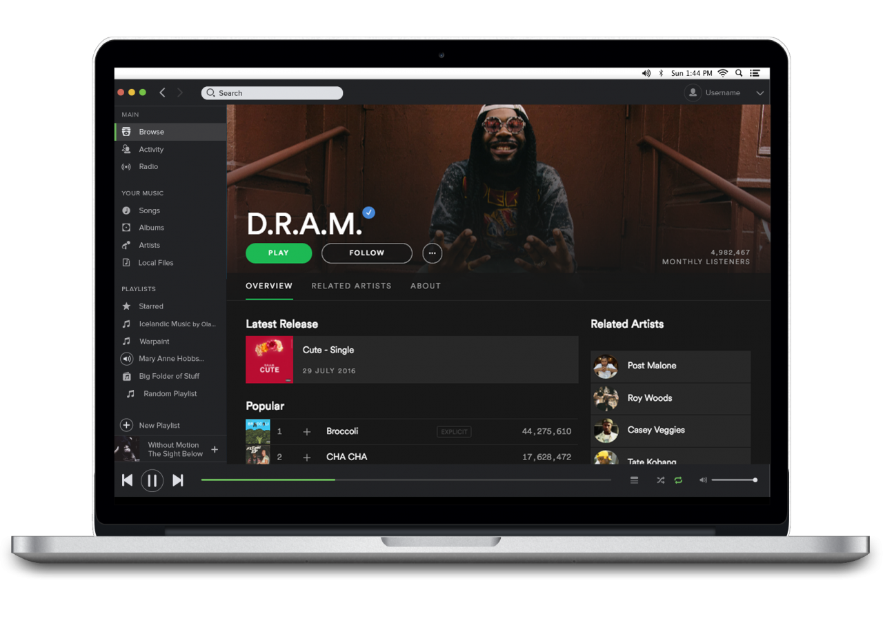 Spotify's new design layout for artist profiles aims to ... - Spotify Profile