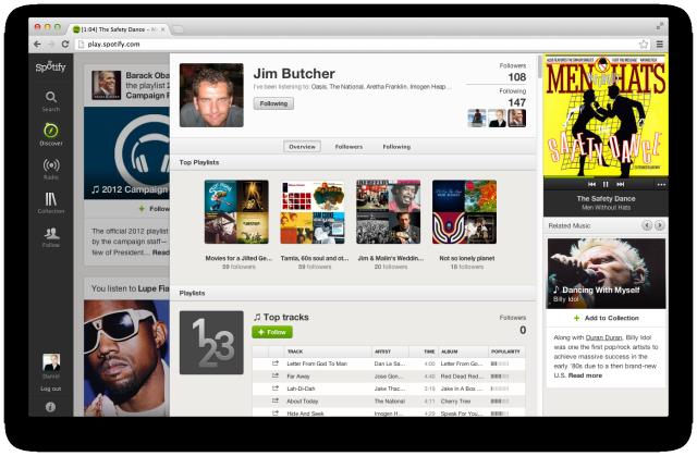 spotifyuserprofile  Spotify Social Discovery
