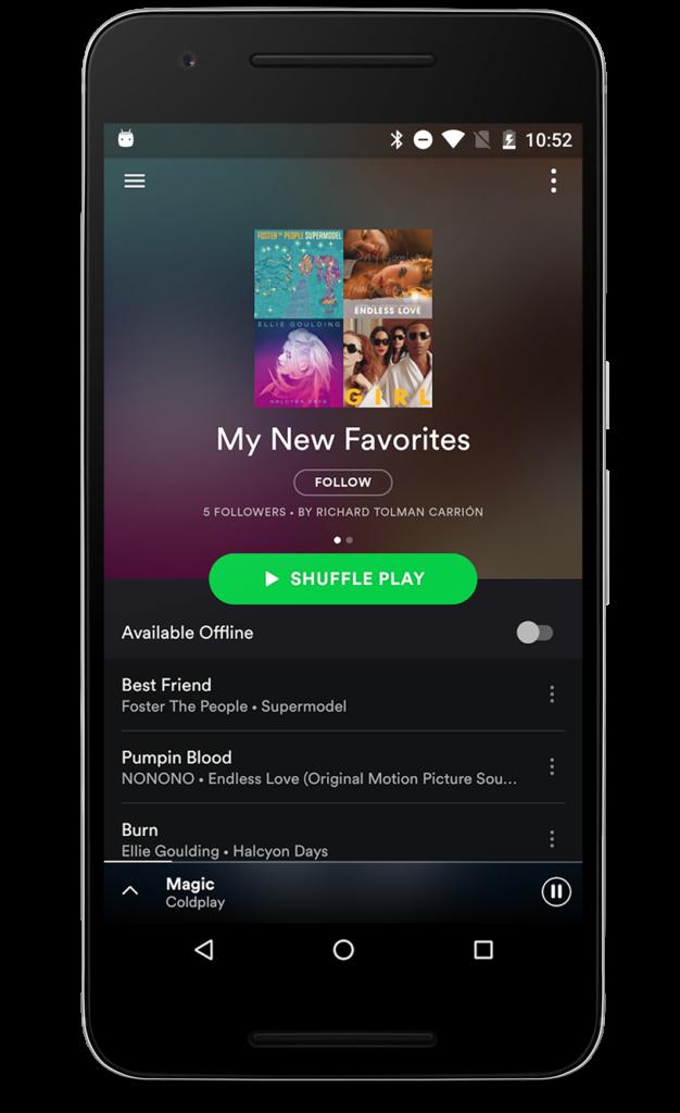 Spotify Music v8444661 Final Mod  Mobile Software