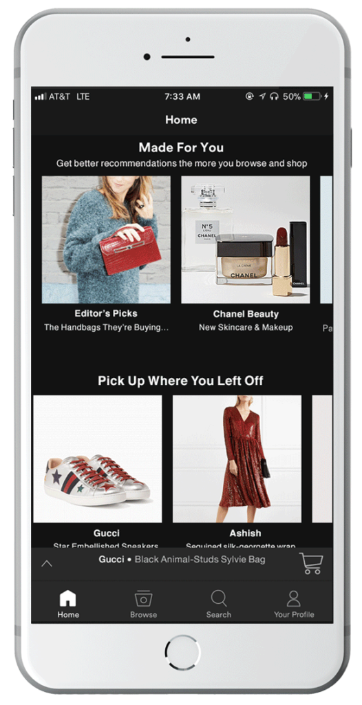 ReImagine Spotify as a Shopping App on Behance