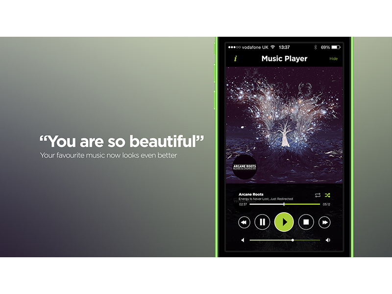 Spotify iOS App Redesign by SteJay on Dribbble