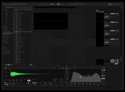Spotify UI remix blueeee  Ableton 10 Theme by siiru