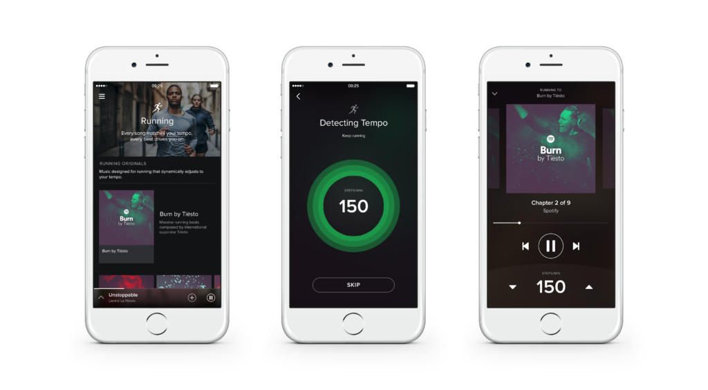This is what the allnew Spotify looks like on iPhone