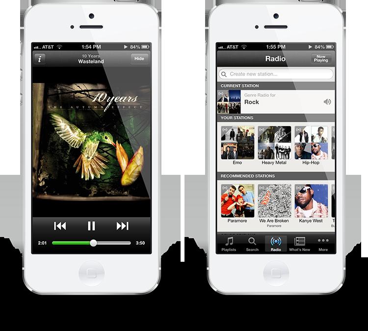 Spotify Update für iPhone 5 Support  HandyTests