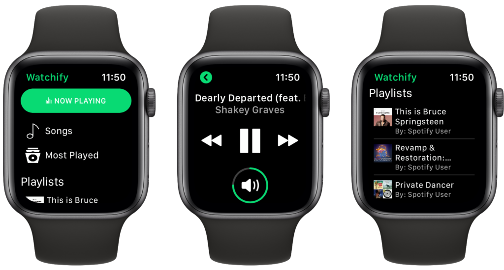 Control Spotify on Your iPhone With Watchify for Apple