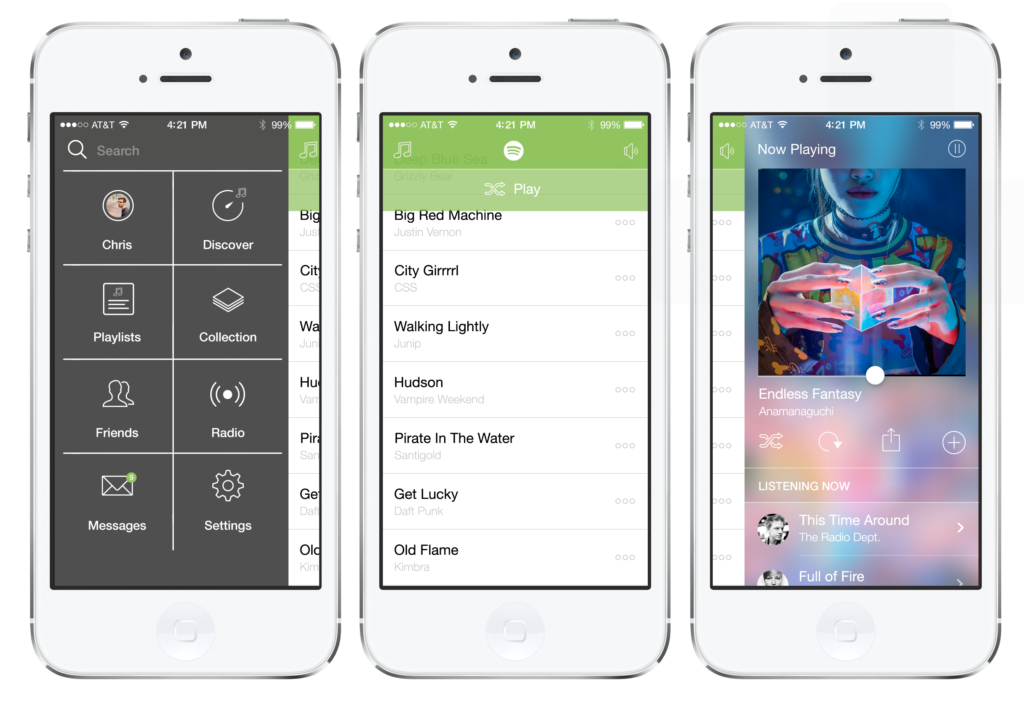 Solved Spotify needs an iOS 7 facelift  The Spotify