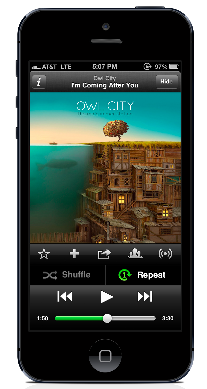 Update iOS App for Bigger iPhone 5 Screen - The Spotify ... - Spotify iPhone Icon