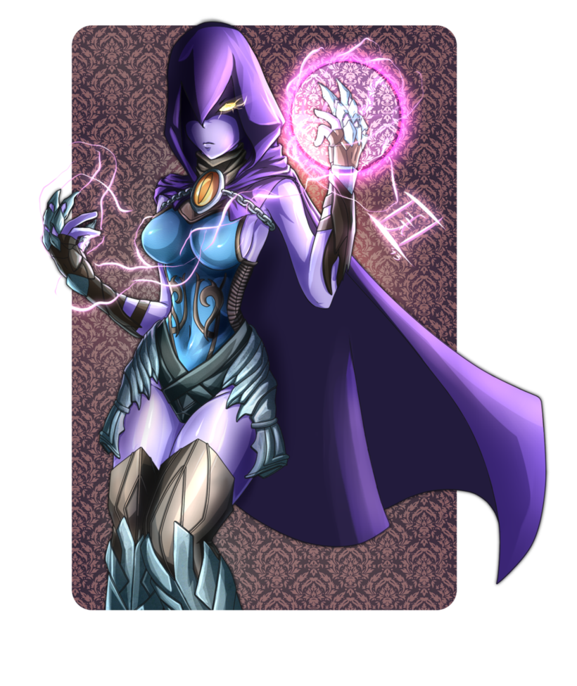 Raven Injustice II by CRAZZEFFECT on DeviantArt  Raven