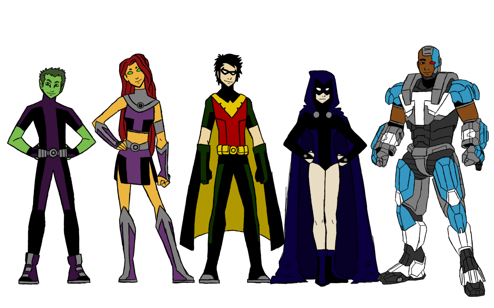 Titans by Coptermode on DeviantArt - Teen Titans Red X Suit