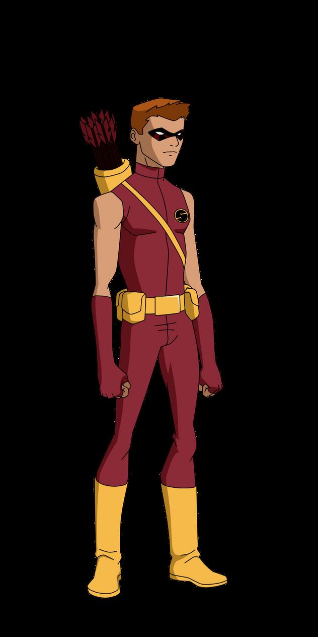Speedy Teen Titans/DCAU Design. by BobbenKatzen on DeviantArt - Teen Titans Red X Suit