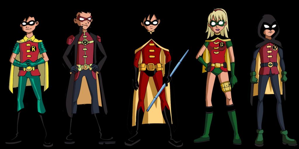 Robin Revamped Costumes by Gleechandeviantartcom on