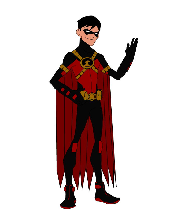 Young Justice Red Robin by DaJam22 on DeviantArt