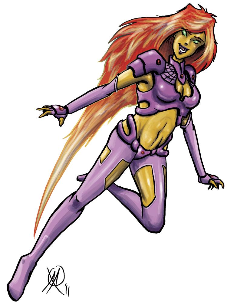 Starfire Redesign by Coyotzin on DeviantArt