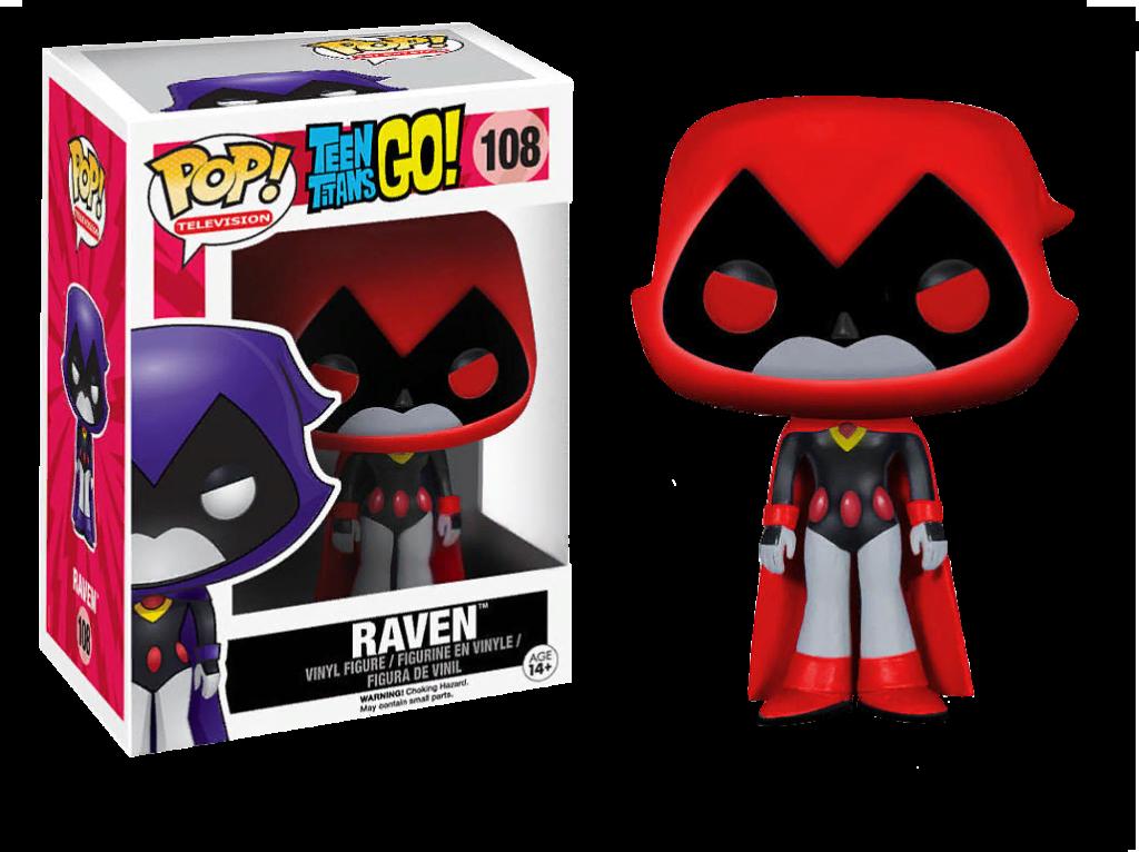 POP Vinyl Red Raven Teen Titans Go Exclusive 108