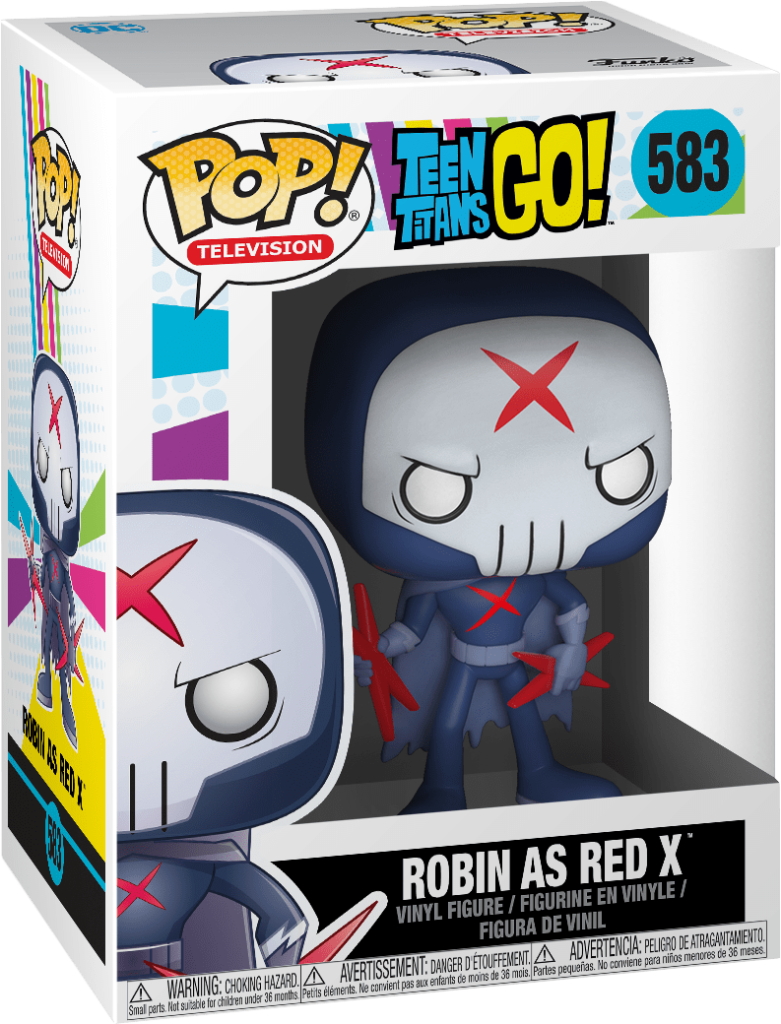 Funko Pop TV Teen Titans Go  Robin as Red X Vinyl