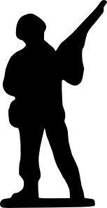 Toy Soldier clip art  vector clip art online royalty