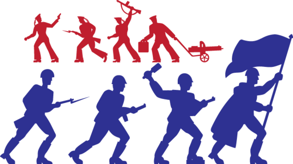 529 toy soldiers silhouettes  Soldier silhouette Clip