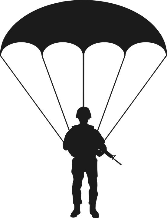 AIRBORNE  Paratrooper Plastic model kits Toy soldiers