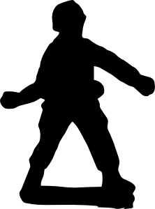 Toy Soldier Clip Art at Clker.com - vector clip art online ... - Toy Soldier Silhouette
