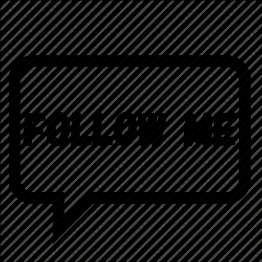 Follow Me Icon at Vectorifiedcom  Collection of Follow