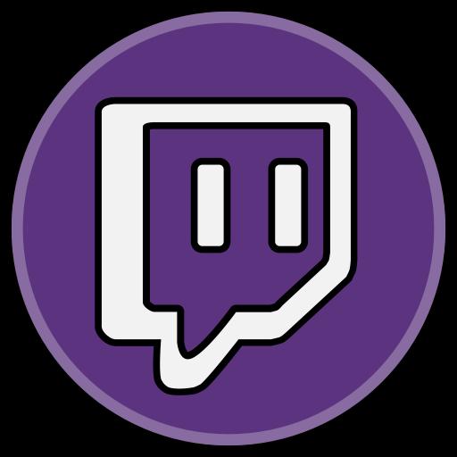 Twitch media Social icon