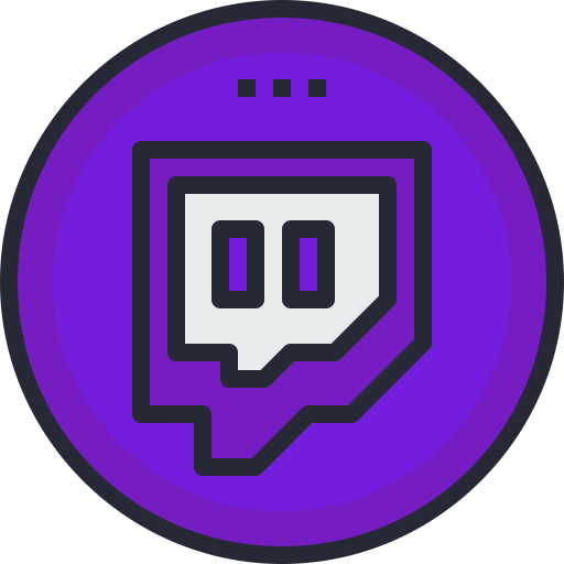 Twitch Icon Free of Social Media Colored Icons