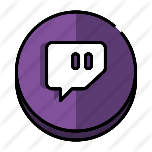 Twitch  Free social icons