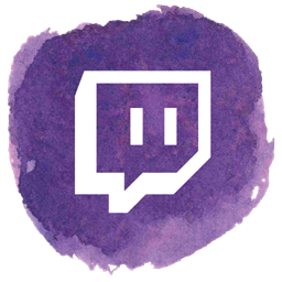 Social Twitch gamer Game video icon