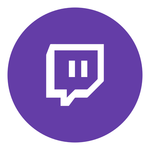 Channel game social twitch icon