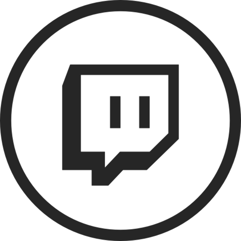 Download High Quality twitch logo png circle Transparent