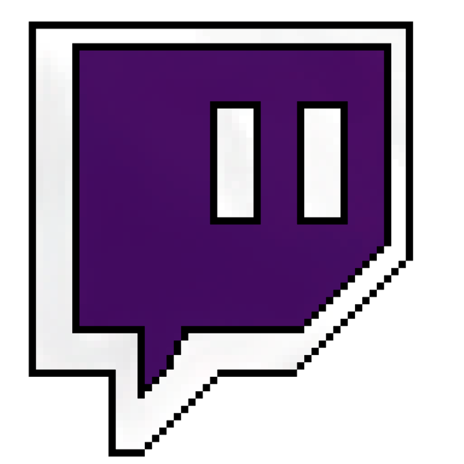 Download High Quality twitch logo png pixel Transparent