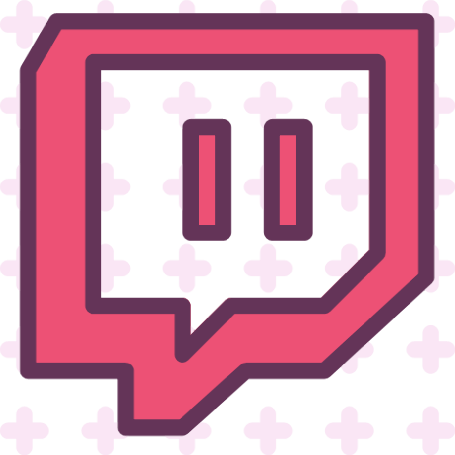 Download High Quality twitch logo png pink Transparent PNG