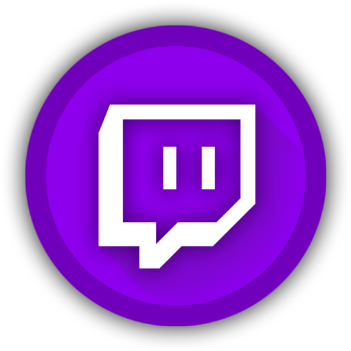 Twitch  Circle Twitch Logo Transparent Clipart  Full