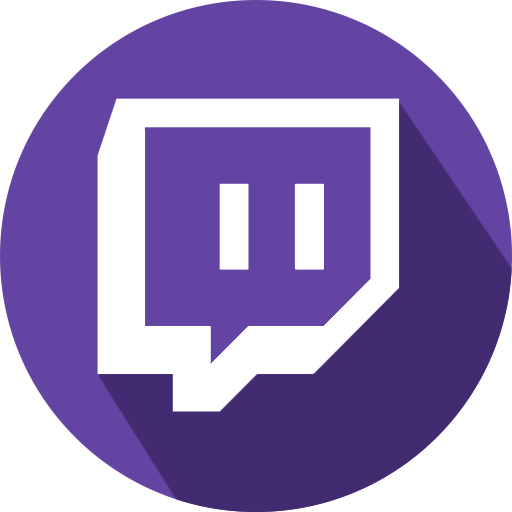Twitch Logo social network Games icon