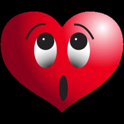 Heart Emoji Transparent Background  PNG Mart
