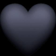 Black Heart Emoji  Meaning Copy  Paste