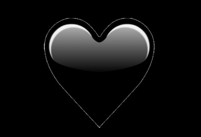 black heart emoji clipart 13 free Cliparts  Download
